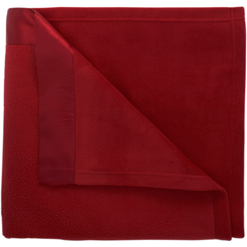 Mainstays Fleece Blanket with Satin Trim