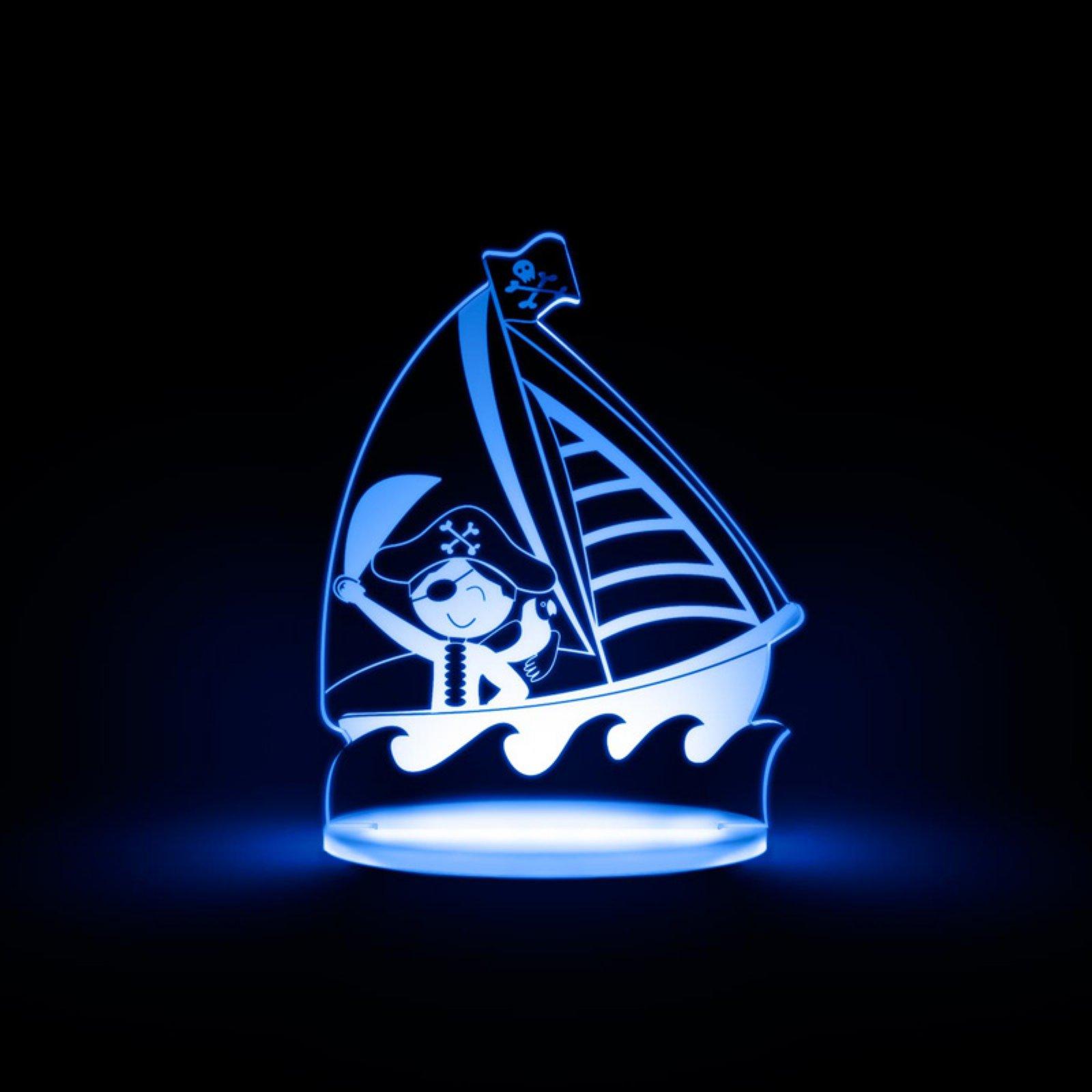 Total Dreamz Pirate Multicolored LED Night Light