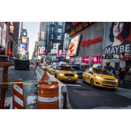 LAMINATED POSTER Public Transport City Nyc Taxi New York Poster Print 24 x (Public Transportation In New York City Travel)