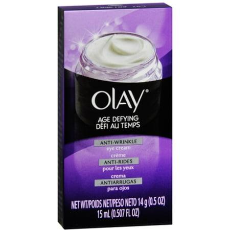Olay Anti-Age Anti-rides Crème Contour des Yeux 0,50 oz (pack de 2)