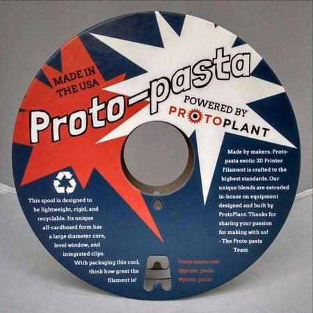 500 Carbon Fiber - Proto-pasta CFP11705 The Original Carbon Fiber Spool , PLA 1.75 mm, 500 g , Black