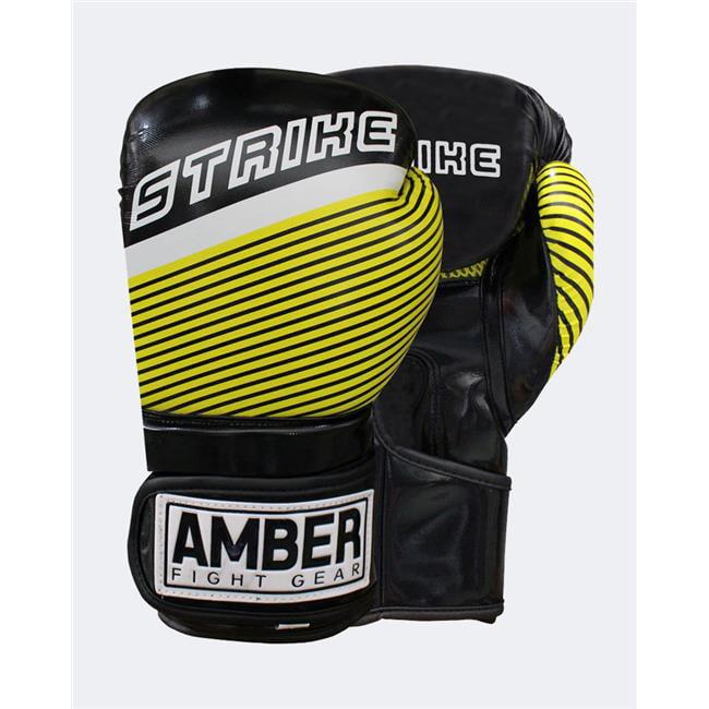 Amber Fight Gear STRIKEv1-14 Strike V1.0 Training Gloves, 14 oz