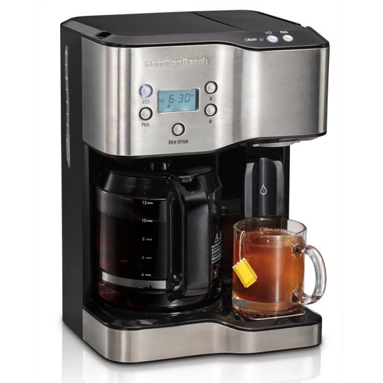 Hamilton Beach 12 Cup Coffeemaker With Hot Water Dispensing Model 49982