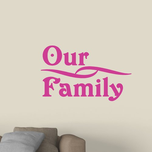 Winston Porter Our Family Wall Decal