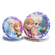 "8 Disney Frozen 8 5/8"" Dinner Plates Birthday Party Supplies  Paper Goods"