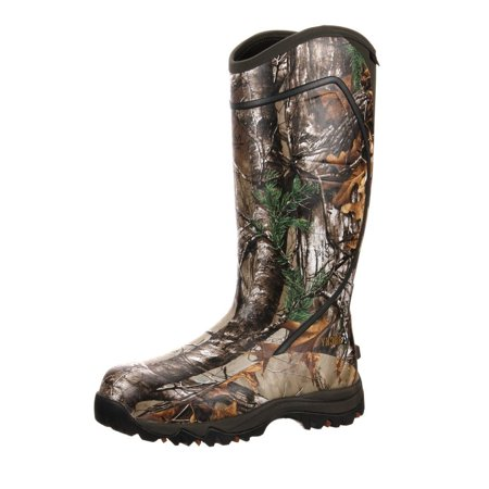 Rocky Core Rubber Boot 1600G  Realtree Xtra  Size 10