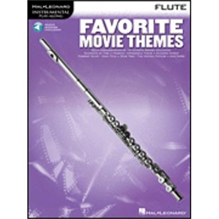 Hal Leonard Favorite Movie Themes  Flute  Book With Online Audio
