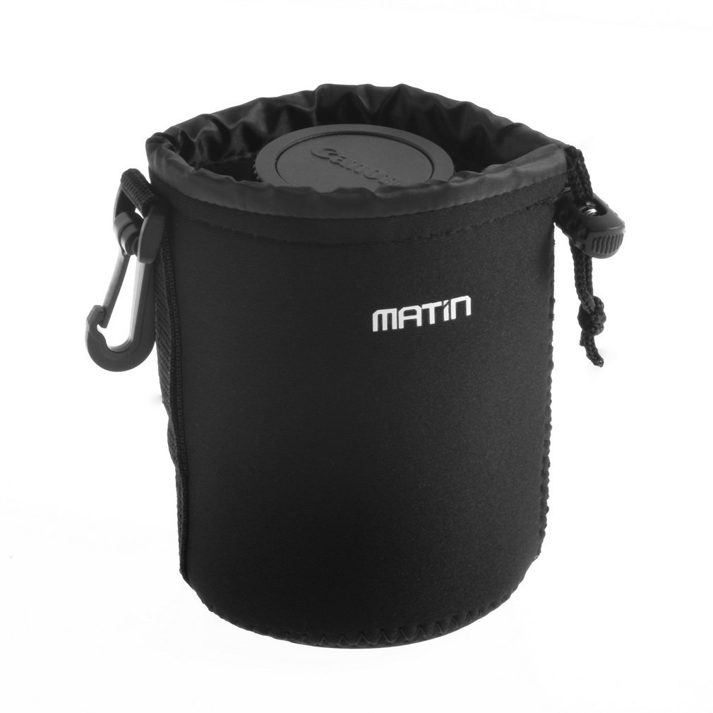 3mm Thick Neoprene Belt Loop Worldwide Matin Neoprene Waterproof Soft Camera Lens Pouch Bag Case roughly