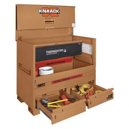 KNAACK 89-DH ThermoSteel™ Jobsite Piano Tool Box, 49