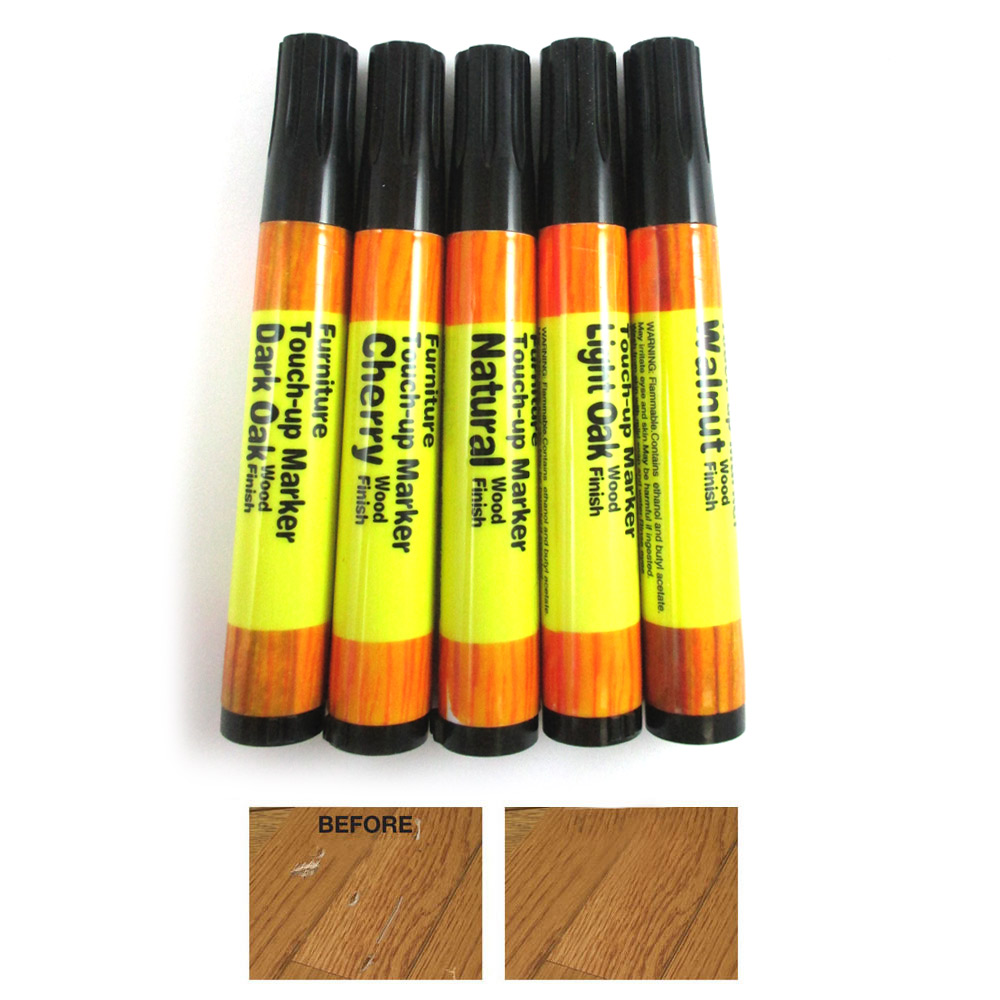furniture touch up markers. furniture touchup markers set wood repair scratch fillers home 5 piece kit new ! touch up