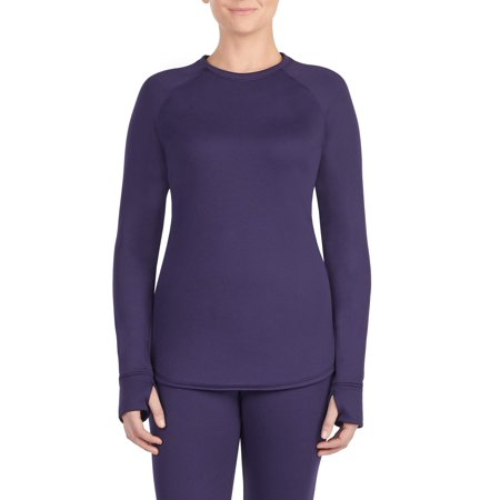 Women's thermal guard long underwear long sleeve crew neck top