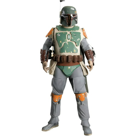 Star Wars Boba Fett Supreme Adult Halloween Costume (Boba Fett Birthday)