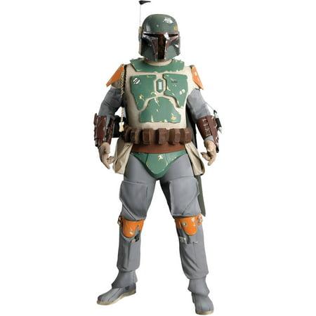 Boba Fett Suit (Star Wars Boba Fett Supreme Adult Halloween)
