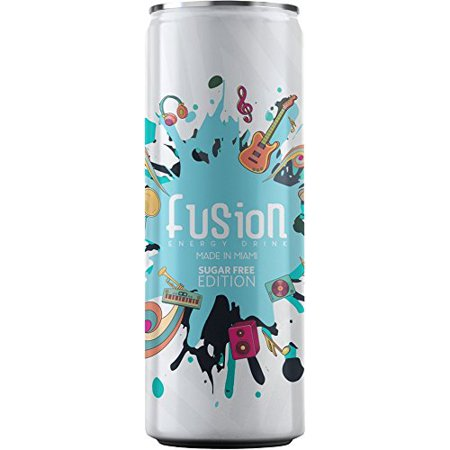 Fusion Sugar Free Energy Drink (12 FL OZ - pack of 12) - Boost Your Inspiration!