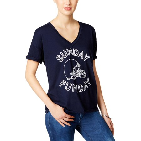 Retro Brand Womens Jersey Graphic Graphic T-Shirt