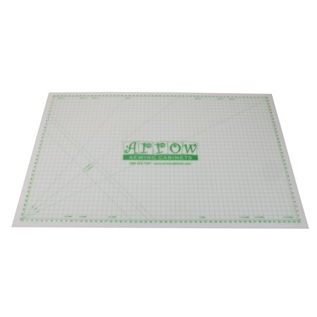 """Arrow Cutting Mat 36"""" x 59"""" Self-Healing, Gridded, Rotary Blade Compatible for Sewing, Quilting Arts & Crafts"""