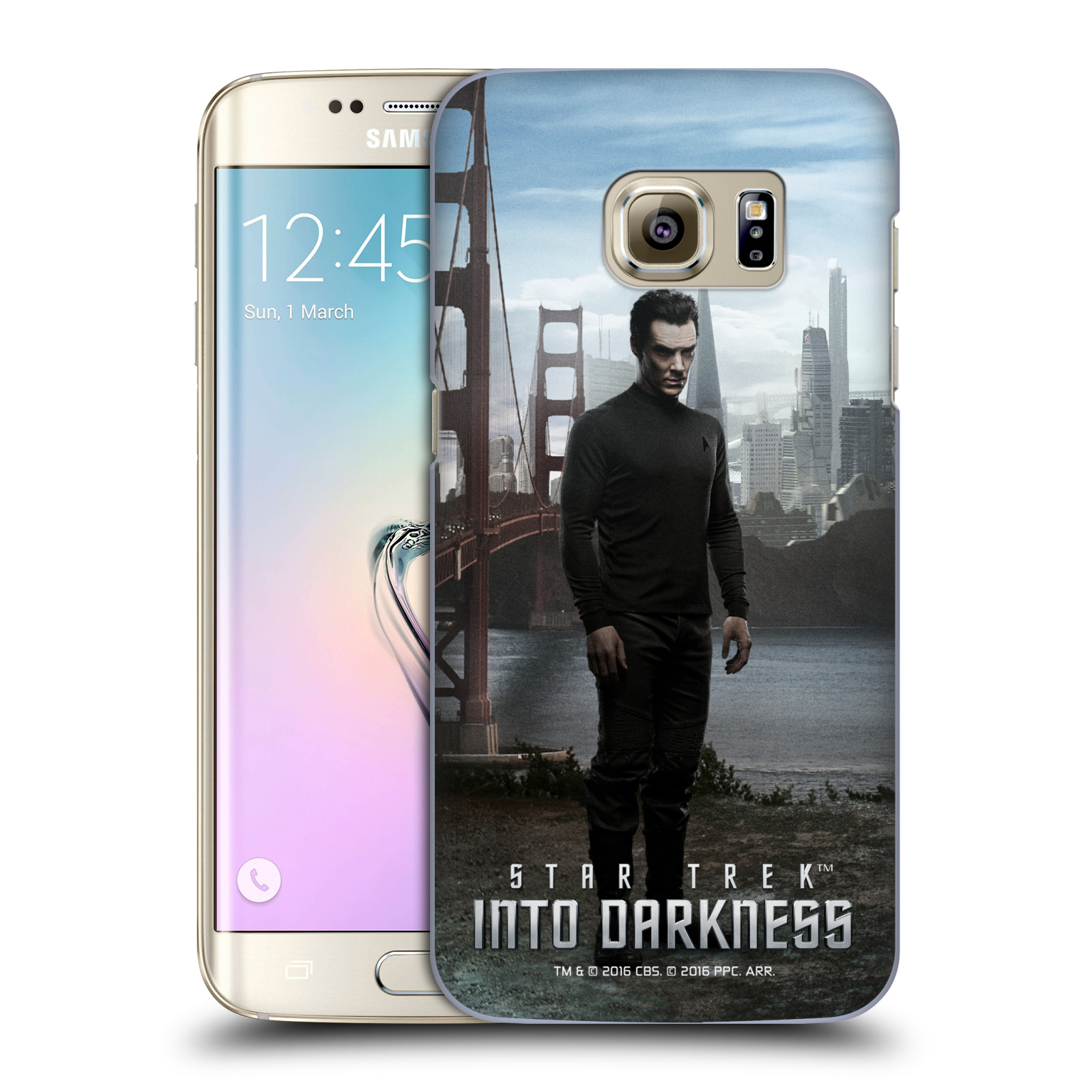 OFFICIAL STAR TREK CHARACTERS INTO DARKNESS XII HARD BACK CASE FOR SAMSUNG PHONES 1