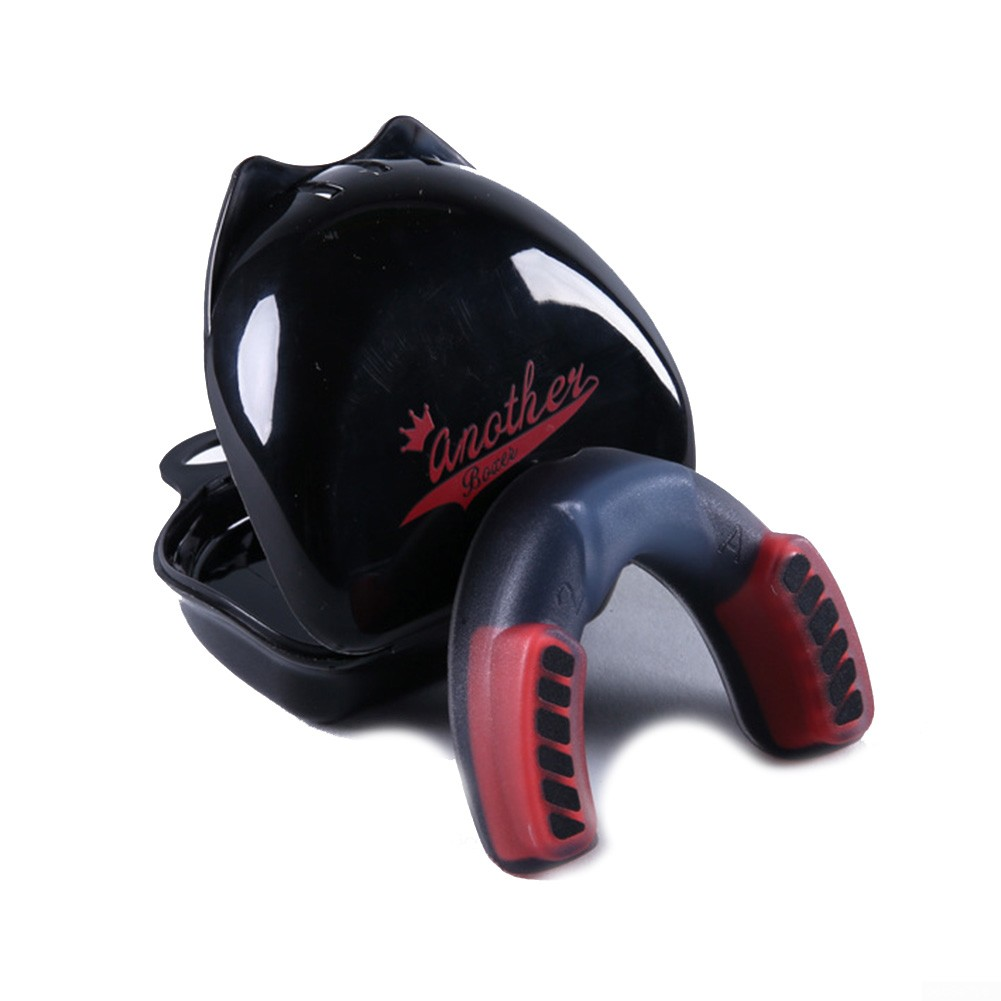 Boxing Mouth Guard MMA Martial Arts Gum Shield Rugby T6P3 Protectio Teeth M5F4