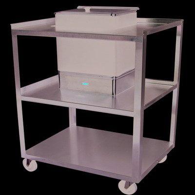 Cart (SS) for E-1 moist heat pack heater