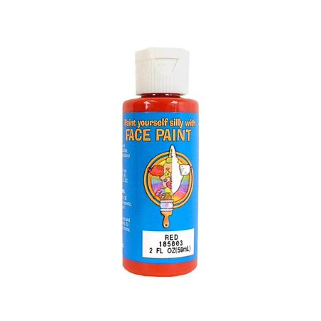 Palmer Face Paint 2oz Red (Halloween Red Face Paint Ideas)