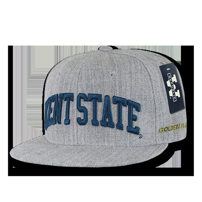 W Republic Game Day Fitted Kent State, Heather Grey - Size 7.25