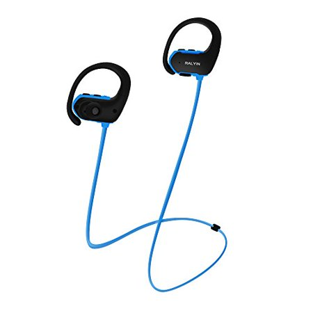 MP3 Headphones Built in 8GB TF Card Memory Storage,Ralyin Bluetooth Earbuds with Microphone Wireless Headphones for Working S ()