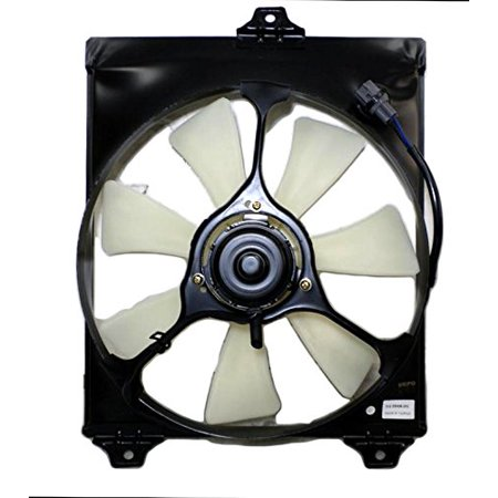 A-C Condenser Fan Assembly - Cooling Direct For/Fit TO3115114 Toyota Avalon (Toyota Cooling System)