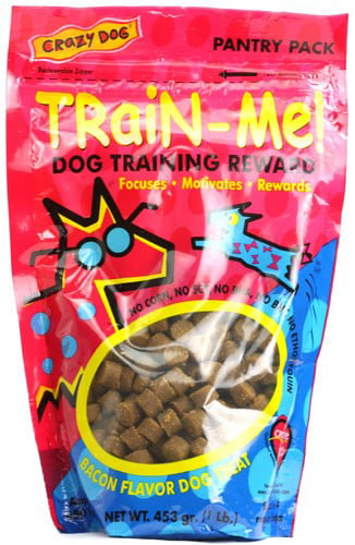 Pet Botanics Train-Me Training Rewards Bacon Dog Treats, 1 Lb by CARDINAL PET CARE