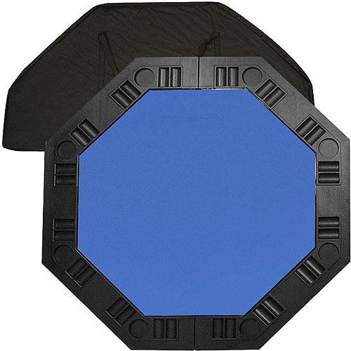 "Trademark Poker 48"" 8-Player Octagonal Table Top, Blue"