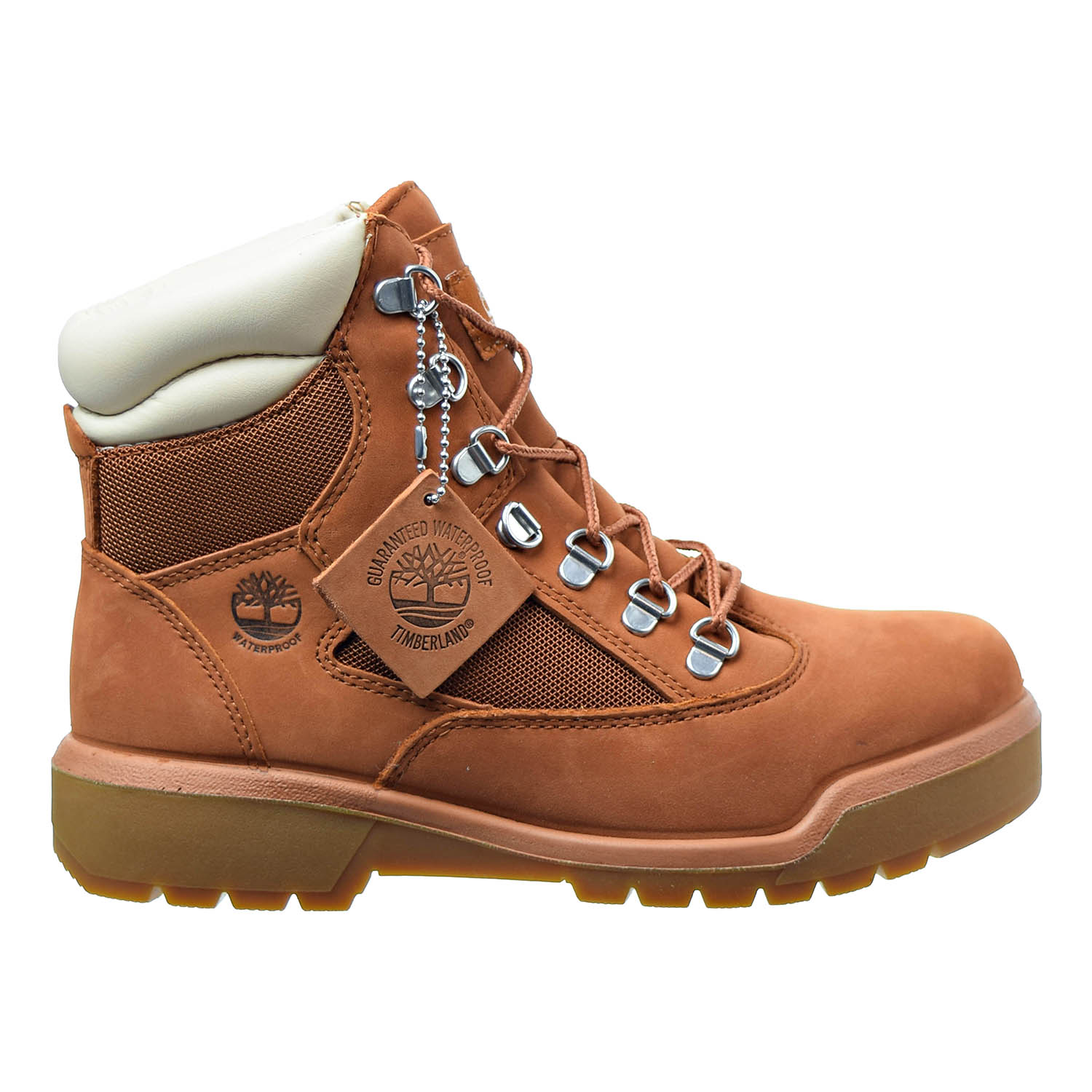 Timberland 6 Inch Men's Field Boots Dark Orange tb0a1nw4 by Timberland