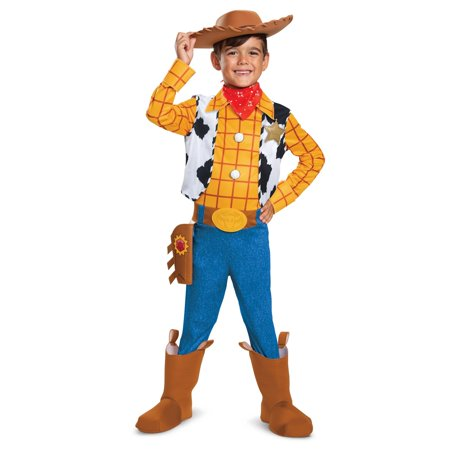 Four Person Halloween Costume (Boy's Woody Deluxe Halloween Costume - Toy Story)