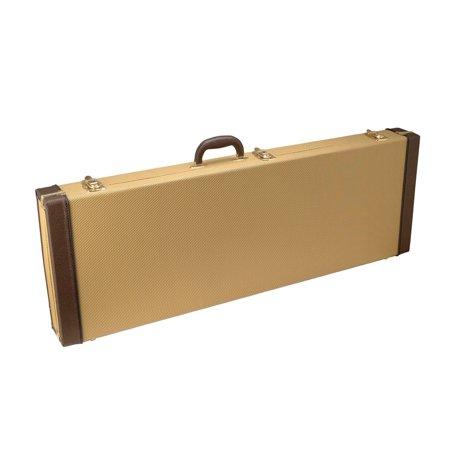 on stage gce6000t electric guitar case tweed. Black Bedroom Furniture Sets. Home Design Ideas