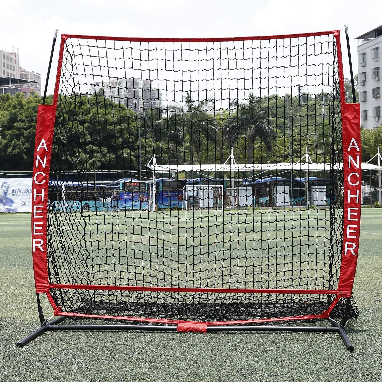 Clearance! Batting Training Net Batting Net Baseball Softball Practice Net with Bow Frame Bag by