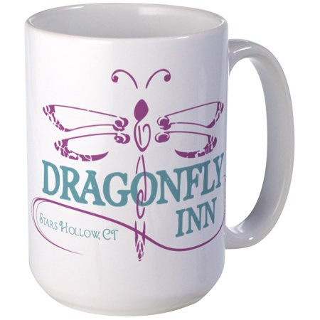 09 Large Mug (CafePress - Gilmore Girls Dragonfly I - 15 oz Ceramic Large Mug)