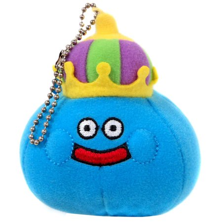 Dragon Quest King Slime Plush Keychain (Custom Made Keychains)