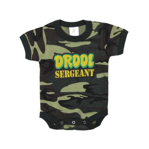 Rothco Infant Drool Sergeant One-Piece, Onesie, Woodland Camo, 12-18 Months