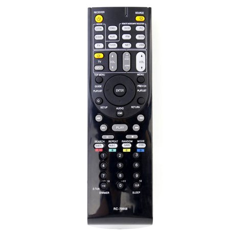 Av Receiver Remote (New RC-799M Replaced Remote Control compatible with Onkyo AV Receiver HT-S3500 HT-R391 HT-R548 HT-RC330 )