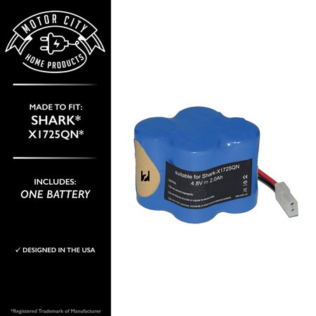 Shark X1725q Comparable Battery Motor City Home Products Brand Replacement 1