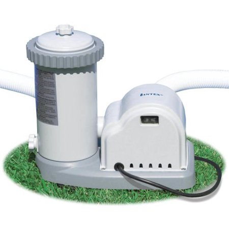 Intex 1500 Gph Easy Set Swimming Pool Filter Pump With
