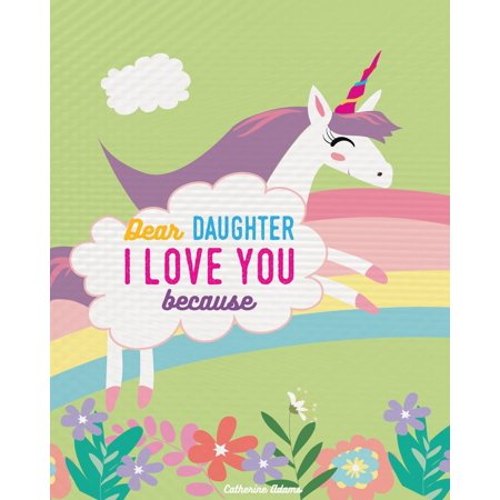 Dragon Storybook (Dear Daughter I Love You Because: Rhyming Unicorn Story Book (Paperback))