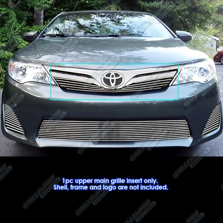 Fits 2012-2014 Toyota Camry Billet Grille Grill Insert