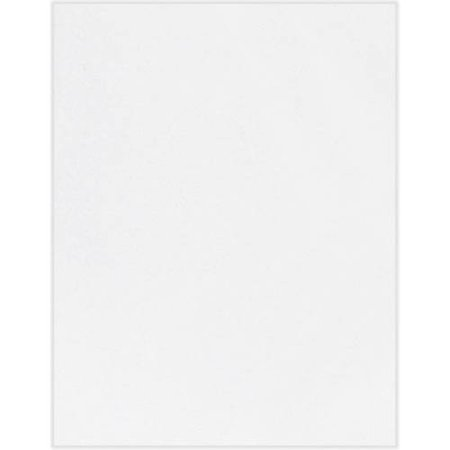 8 1/2 x 11 Cardstock - 80lb. Bright White (50 -