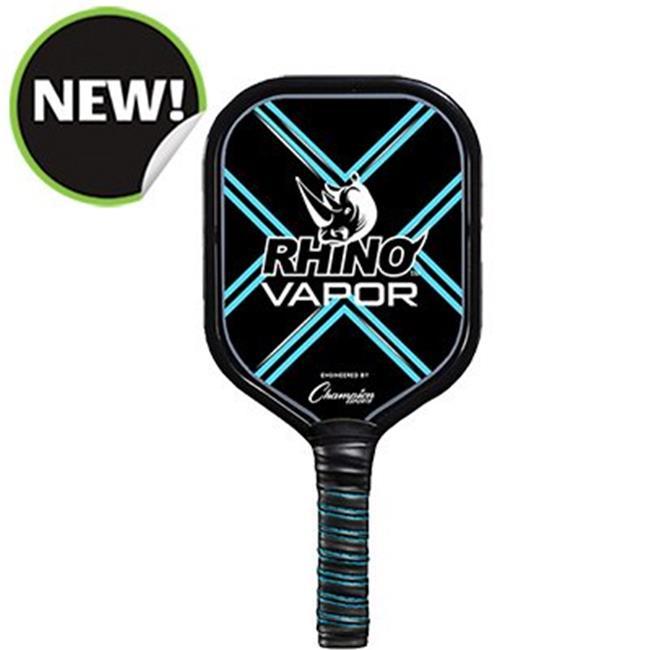 Champion Sports VAPOR 9.6-9.8 oz 6 in. Handle Aluminum Pickleball Paddle
