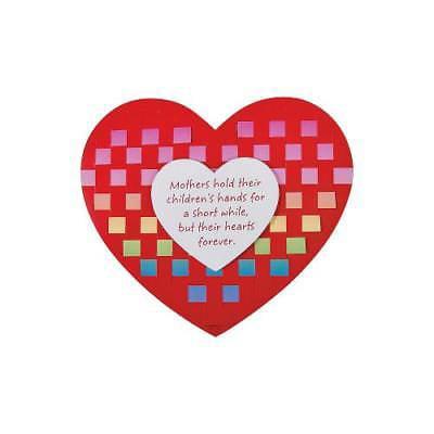 In 13722493 Mother S Day Heart Weaving Mat Craft Kit Walmart Com