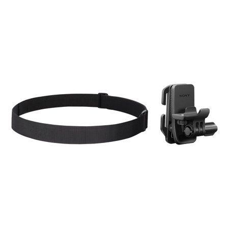 Sony BLT-CHM1 - Support system - headband mount - for Action Cam-FDR-X1000, HDR-AS100, AS200, AS50; Action Cam Mini HDR-AZ1, AZ1VR