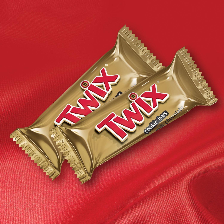 Twix, Valentine\'s Day Caramel Minis Size Chocolate Cookie Candy Bar ...