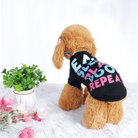 Peanut Costume For Dog (Pet T Shirt Spring Summer Dog Puppy Small Pet Cat Apparel Clothes Costume Vest Tops #16 Stripe Style,)
