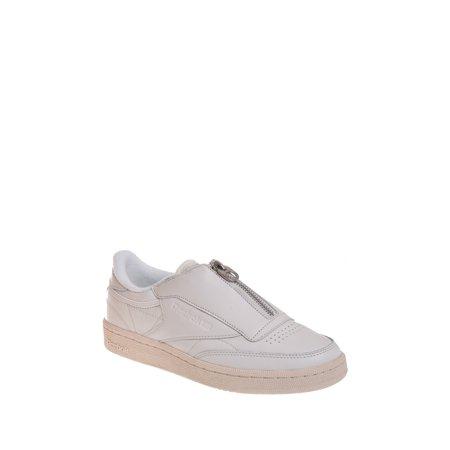 8a788f2b93f Reebok - Club C 85 Zip Sneaker - White - Walmart.com