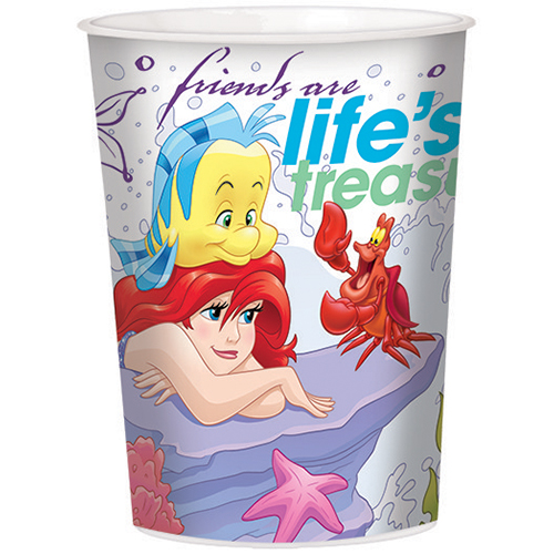 Little Mermaid 16oz Favor Cup (Each) - Party Supplies