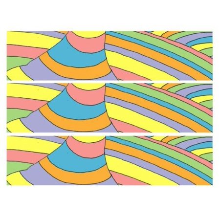 Dr. Seuss Oh the places we'll go edible cake strips cake topper decorations (Dr Suess Cake)